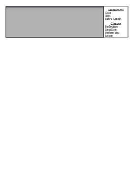 Lesson Planning Template for Teachers