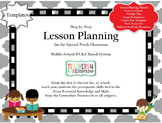 Lesson Planning Templates 2nd Edition
