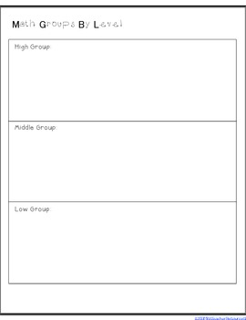 Lesson Planning Templates - FREEBIE