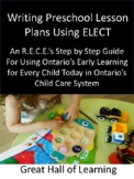 Lesson Planning Using ELECT