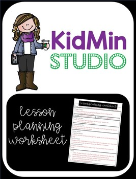 Lesson Planning Worksheet - HBLT Approach