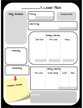 Lesson Planning for the Over Planner