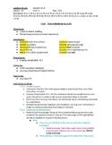 Lesson Plans: 4th Grade Journeys Unit 2 Lesson 10