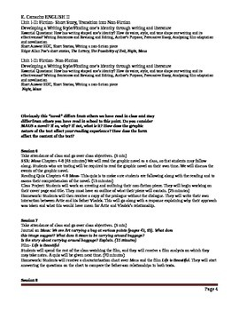 Lesson Plans English II Unit II- Non-fiction