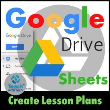 Lesson Plans using Google Drive Sheets