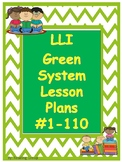 Lesson Plans Green System #1-110 (updated 1/24/19)