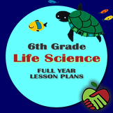 Lesson Plans: 6th Grade Life Science Full Year