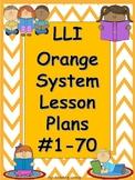 Lesson Plans Orange System #1-70