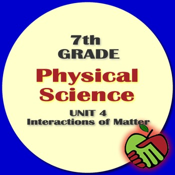 Lesson Plans: 7th Grade Physical Science Unit 4 Interactions of Matter