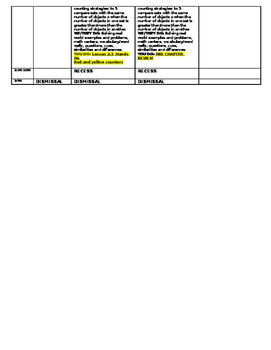 Lesson Plans Reading Wonders/Go Math Kindergarten Unit 1 Week 1