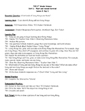 Lesson Plans TCI Science Unit 1 Lesson 1 What Kind of Living Things Are There?