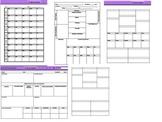 Lesson Plans Templates Bundle (5 Templates)