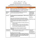 Lesson Plans- Wonders Reading 3rd Grade -Unit 1 Week 1