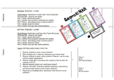 Lesson Plans all year Math/Science Grade 4