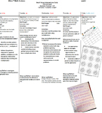 Lesson Plans all year Math/Science Grade 3