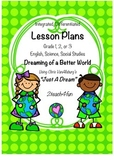 """Lesson Plans and Activities- integrated, differentiated, based on """"Just A Dream"""""""
