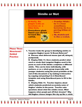 Lesson Plans and Activities to Teach Simile: Common Core Standards Aligned