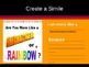 Interactive PowerPoint with Teaching Notes to Teach Simile