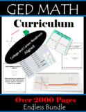 GED Math Curriculum