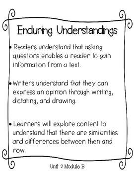 Lesson Plans for ReadyGEN Kindergarten Unit 2 B, Lessons 1-6