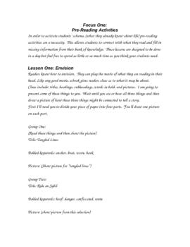 Lesson Plans for Struggling Middle Grades Readers