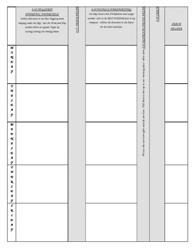Lesson Plans for Sub Binder