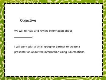 Lesson Plans iPad Educreations App 21st century skills writing