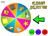 Lesson Review Wheel - A FUN way to review learning at the