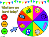 Lesson Review Wheel VERSION 2! Even more FUN activities to