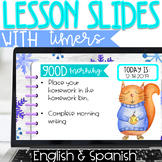 Lesson Slides -Winter Theme