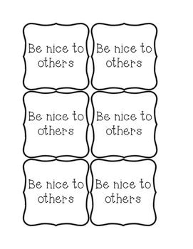 Lesson Sticks