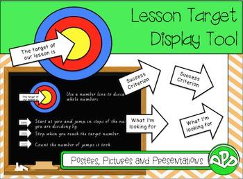 Lesson Target Tool - FREEBIE!!