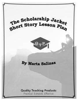 Lesson: The Scholarship Jacket by Marta Salinas Lesson Plan, Worksheets, Key