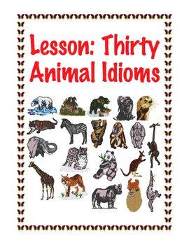 Lesson: Thirty Animal Idioms
