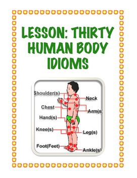 Lesson: Thirty Human Body Idioms