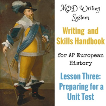 Lesson Three--Preparing for a Unit Test from the AP Euro W