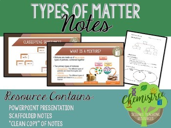 Lesson: Types of Matter