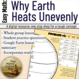 Lesson: Why Earth Heats Unevenly - Great for APES, Earth /