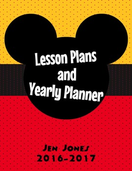 Lesson and Yearly Planner