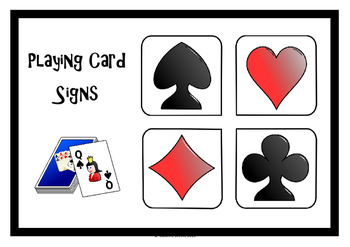 Lesson break game -  '4 corners'  -  wall signs
