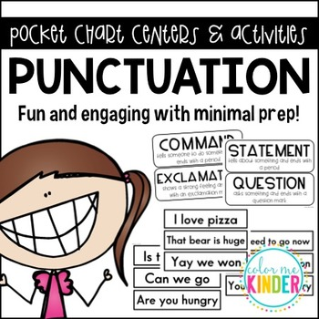 Lesson in a Snap! PUNCTUATION Pocket Chart Activity