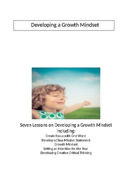 Seven Lessons on Growth Mindset, Mindfulness and Problem Solving for Elementary