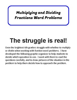 Multiply And Dividing Fractions Word Problems Worksheets ...