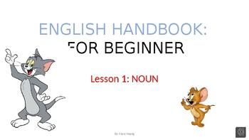 Lesson on Noun - editable source file