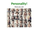 Personalities: An ESL Lesson on Character Traits