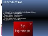Lesson on Superstitions from around the world