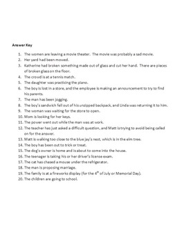 Lesson on making inferences NO PREP FREE Good Substitute Lesson