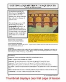 "Lesson plan.  Aqueducts:  A Study of ""Le Pont-du-Gard"""