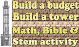 Lesson plan: Build a budget, build a tower (Bible)