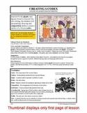 Lesson plan.  Creating a Codex:  A Study of Ancient Mayan Writing